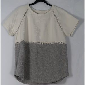 Lou & Grey Tops - Lou & Grey▪️ White and Grey T-Shirt